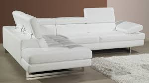 sofas center white leather cornerfa real modern sleeper