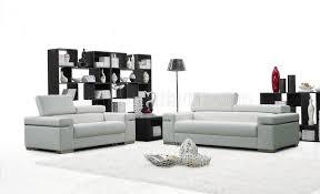 j u0026m modern soho leather leather match sofa in white w options