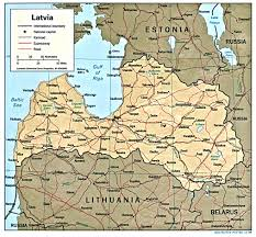 Baltic States Map Latvia Maps Perry Castañeda Map Collection Ut Library Online
