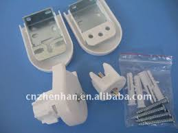 Mini Blind Brackets 25mm D Type Plastic Bracket Roller Blind Clutch Curtain