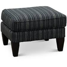 navy blue and white ottoman rc willey sells stylish and comfortable ottomans