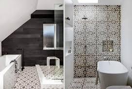 modern bathroom tile designs patterned tiles interior design trend design