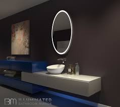 48 bathroom mirror galaxy bathroom mirror oval 30 x 48 in ib mirror