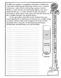 physical and chemical change lab activity worksheets handouts