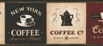 wallpaper borders coffee cups cafe coffee wallpaper border eb8900b coffee decor espresso