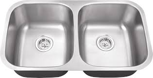 Wwwiptsinkcom M  Gauge Double Bowl Undermount Stainless - Double bowl undermount kitchen sinks
