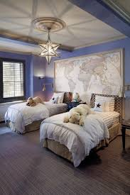bedroom bedroom decorating idea with twin bed and cozy white