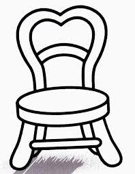 dessiner une chaise coloriage chaise