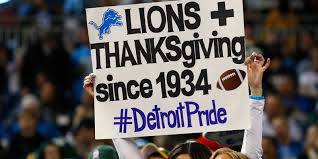 why do the lions and cowboys play on thanksgiving sporcle