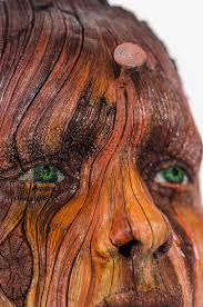 Tree Faces Garden Art Artist Makes Surreal Tree Bark Textured Ceramic Sculptures Out Of Clay