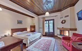 standard double room with fireplace giamandes hotel elati trikala