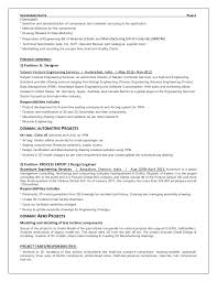 exle of a professional resume for a resume