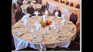 Simple Table Decorations by Simple Table Decorations For Weddings Youtube