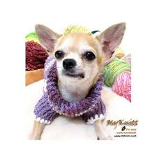 chihuahua sweaters purple crocheted chihuahua sweater and warm cotton sweater