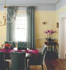 purple and green dining room house design ideas