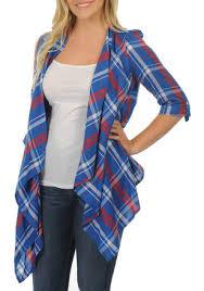Plaid Cardigan Womens Kansas Jayhawks Womens Apparel Ku Apparel U0026 Gifts Shop Jayhawks