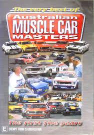 Australian Muscle Cars - chevron dvds