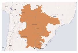 Asuncion Paraguay Map Integration And Development Hubs