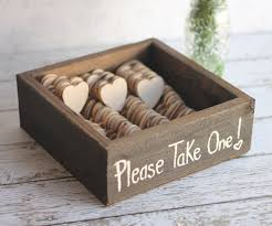 bulk wedding favors rustic wedding favors wood heart magnets vintage inspired shabby