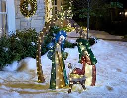 Outdoor Christmas Decorations Led Tree by Outdoor Christmas Decorations