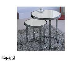 Nesting Dining Table The Harmony Nesting Table Set Expand Furniture Folding Tables