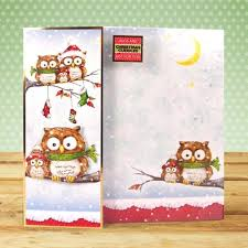 hunkydory a4 topper set owl be home for