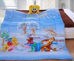 Winnie The Pooh Duvet Blue Winnie The Pooh And Tiger Comforter Disney Bedding Kids