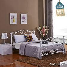 ivory bed frames and divan bases ebay