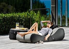 outdoor bean bag lounger by lujo living design milk