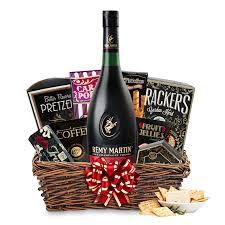 where to buy gift baskets buy remy martin vsop cognac gift basket online