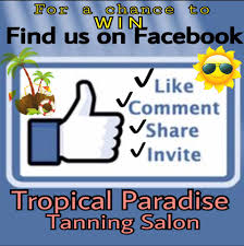 tropical paradise tanning salon home facebook