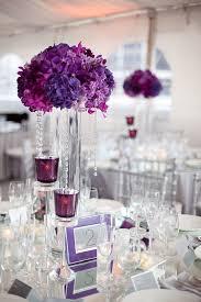Wedding Centerpieces Wedding Centerpieces With Purple Flowers Ipunya