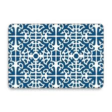 Placemats Bed Bath And Beyond Jason Parterre Blue Hardboard Cork Backedâ Placemats Set Of 4