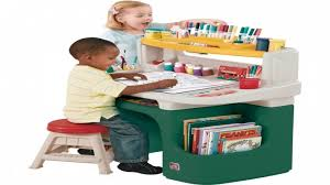 step 2 deluxe art desk step2 deluxe art master activity desk and chair childrens best