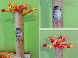 squirrel in a tree fun family crafts
