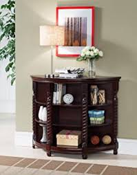amazon com outdoor rustic espresso brown finish eucalyptus wood