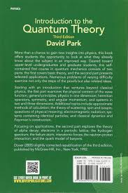 introduction to the quantum theory third edition dover books on