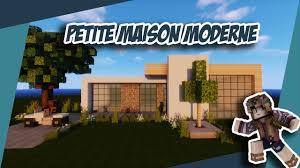 Maison Modern Minecraft by Minecraft Tuto Petite Maison Moderne Ultra Simple Youtube