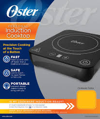 oster ckstpic1000 bk portable induction burner black or red