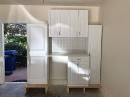 storage cabinets for kitchen at lowes estate cabinets by rsi from lowe s storage cabinets in