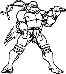 ninja turtle coloring picture free download
