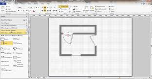 Design A Floorplan Microsoft Visio Floor Plan Youtube