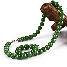 beaded jade necklace images Buy high quality wholesale beautiful green jpg