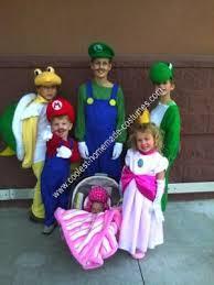 Mario Luigi Halloween Costumes 66 Mario Brothers Halloween Images Mario
