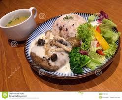 suppenküche hamburg japanische miso suppe küche teller kinoko hamburg stockfoto bild