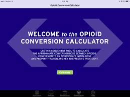 opioid dose conversion calculator on the app store