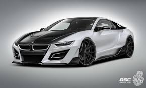 Bmw I8 Front - german tuner gives bmw i8 an itron makeover