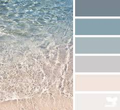 sea color design seeds crystals and color palettes