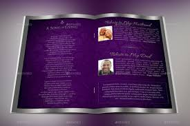 Template For A Funeral Program Lavender Dignity Funeral Program Template By Godserv2 Graphicriver