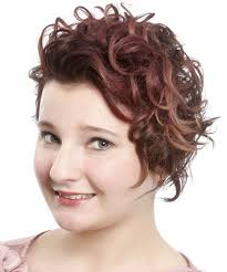 red short cropped hairstyles over 50 short wavy casual hairstyle medium brunette mahogany hair